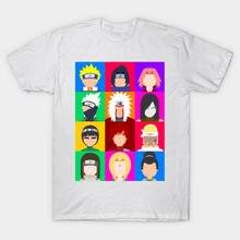 Nueva llegada Anime equipo Naruto impresión T camisa de manga corta los  hombres cuello de dibujos 102d080b8a6