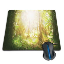 Babaite 2015 Hot Sales Sunny Forest and Sunny Mountain Lake Customized Mouse Pad Computer Notebook Laptop Gaming Mice Mat Pad