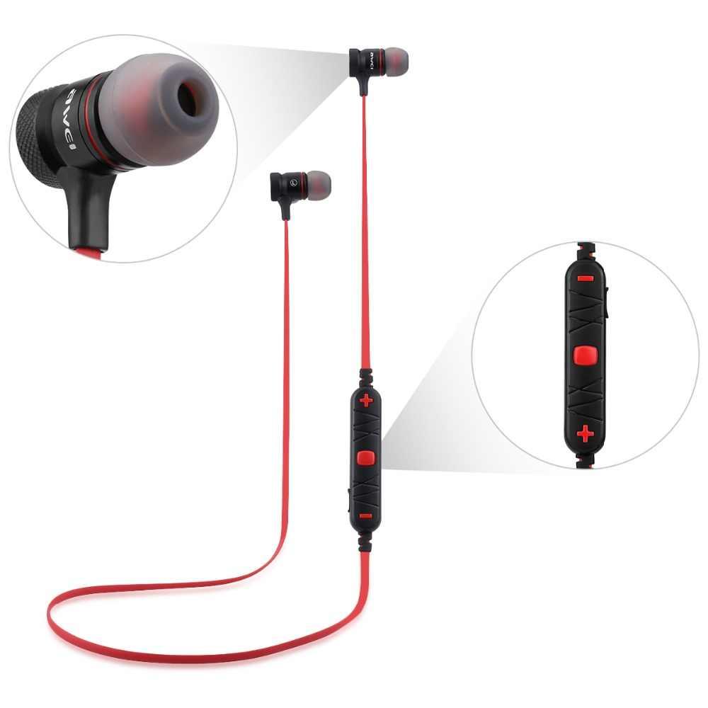 Наушники-вкладыши AWEI A920BL Bluetooth V4.1 наушники Беспроводной громкой связи Bluetooth гарнитура спортивные Bluetooth наушники Auriculares Bluetooth беспроводные наушники шлем