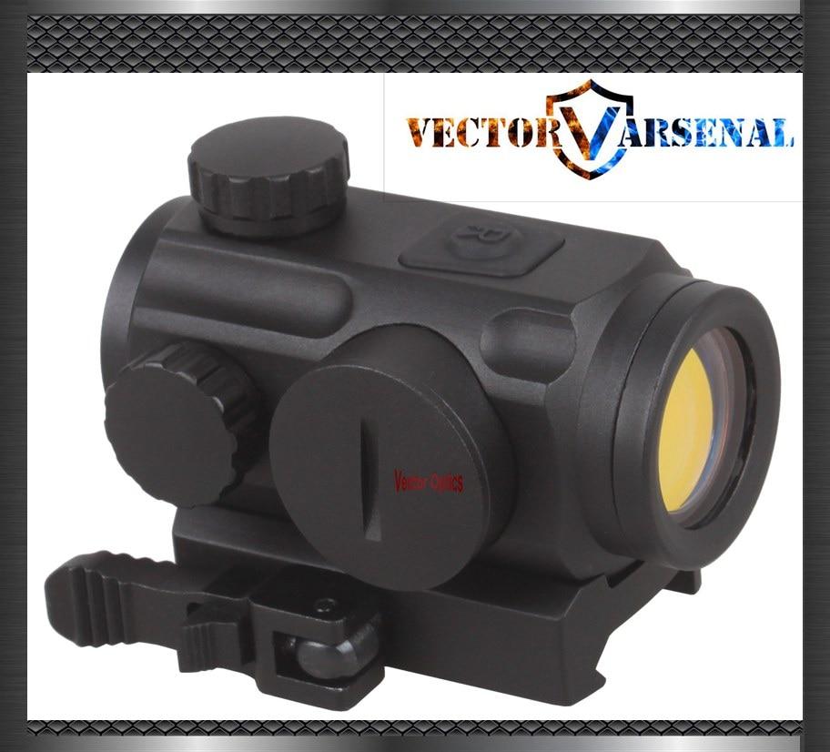 Вектор Оптика мини 1×20 Тактический 3 MOA Red Dot Сфера голографический прицел с быстросъемное Крепление подходит для AK 47 7.62 AR 15 5.56