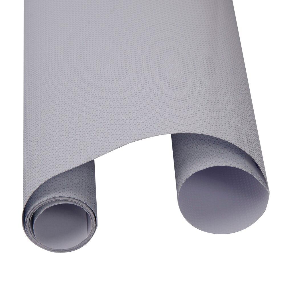 137 cm * 2000 cm blanc à sens unique Vision perforé médias d'impression vinyle confidentialité fenêtre Film adhésif verre Wrap rouleau