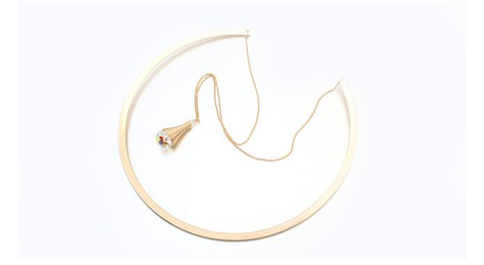 Swarovski Choker Necklace - Jn18*
