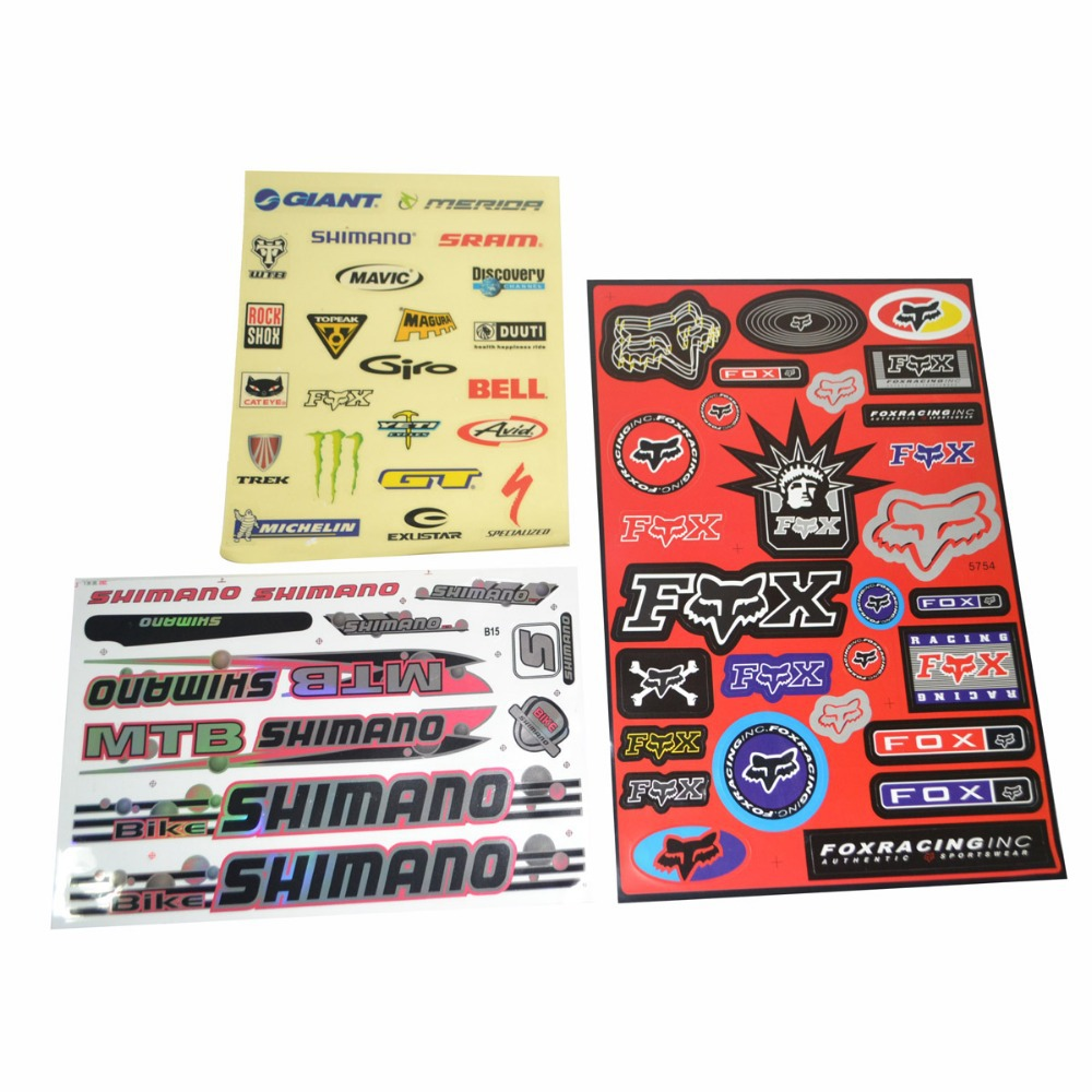 Bike stickers design discover - Meijun Mtb Mountain Bike Bicycle Stickers Tags Paster Parts Free Shipping China Mainland