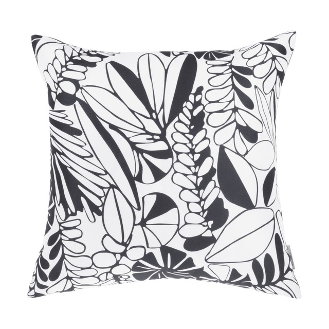 Morden New Design Leaves Printed Sofa Pillows Home Decoration Channel Pillow Leave Pattern Printed Chair Decor
