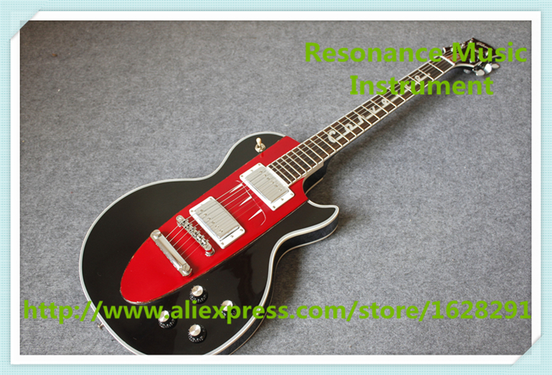Chinese Black Finish 1960 Corvette Suneye LP Electric Guitars With Solid Mahogany Guitar Body For Sale