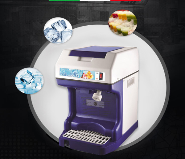Ice Crusher Electric Snack Food Machine Ice Shaver Auto Blender Smooth Full Automatically