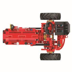 Image 3 - Technic 7070 302pcs Technic Classical Classic Old Tractor building block Brick Toys Compatible  Technic