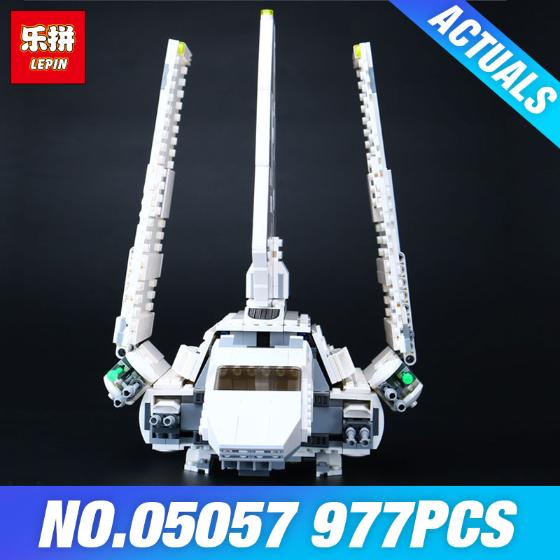 EPIN 05057 Star Series Wars Shuttle Self-Locking Tydirium Building Blocks Bricks Assembled Educational toys Compatible as 75094 120pcs new building blocks self locking bricks after completion of transformation can change shape compatible legoinglys toys