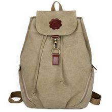 Новая мода Известная Марка женщины Школа рюкзак женщины рюкзаки Студент сумка высокое качество холст рюкзак женский B0620