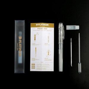 Image 4 - Japan Imports pluma estilográfica de PSQC 400 PLATINUM, tinta de Color transparente con pluma estilográfica, 1 Uds.