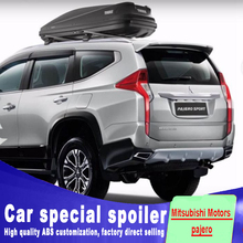 For Mitsubishi pajero spoiler 2016 2017 2018 high quality ABS material by primer black white paint For Mitsubishi Motors pajero high quality alternator for mitsubishi l200 pajero a003t07483 a3t07483 md162964