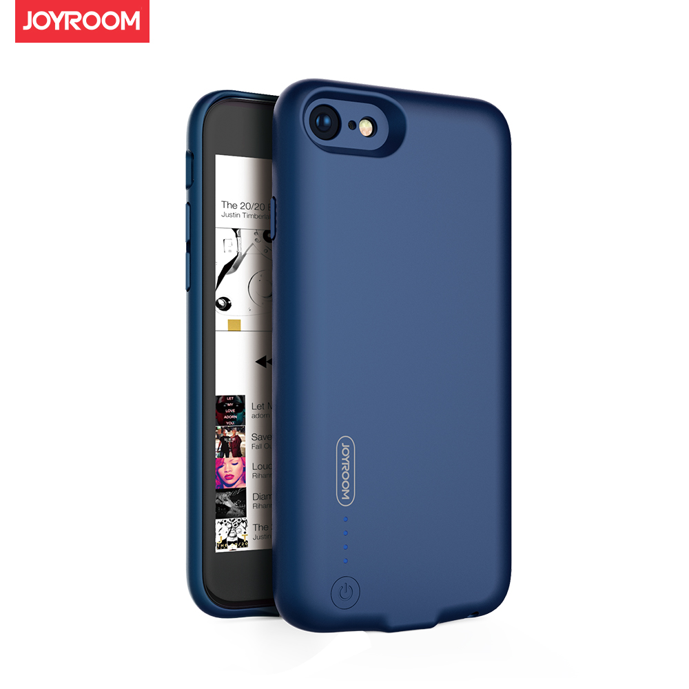 more photos 2e408 3946b US $21.07 24% OFF|Ultra Thin Powerbank Battery Charger Case For iPhone 7 8  External Battery Case For iPhone 7 8 Plus Audio jack 3.5mm Headphone-in ...