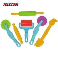 TELECOOL Play Clay Sculpting Modeling Making Polymer Ceramic Tools model building Kit Play dough Tool Dough