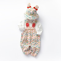 Baby Girls Clothing Set Carnival Costume Newborn Outfit Infant Butterfly Overalls Hat Princess Baby Girl Autumn Clothes Suit