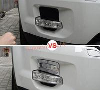 4pcs ABS Front Fog Light Cover Trim For Land Rover Range Rover Evoque 11 15