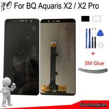 Black/White AAA Original LCD For BQ Aquaris X2 LCD Display + Touch Screen Digitizer Assembly Replace For BQ Aquaris X2 Pro LCD