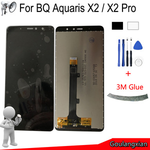 Image 1 - Black/White AAA Original LCD For BQ Aquaris X2 LCD Display + Touch Screen Digitizer Assembly Replace For BQ Aquaris X2 Pro LCD