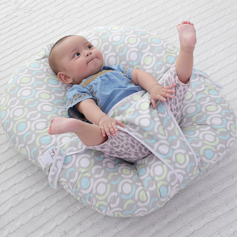 цена на Children's Print Infant Plush Baby Seat Sofa Baby Bed Feeding Soft Chair Avaliable For Kids Sleeping Bed Baby Support Seat Soft