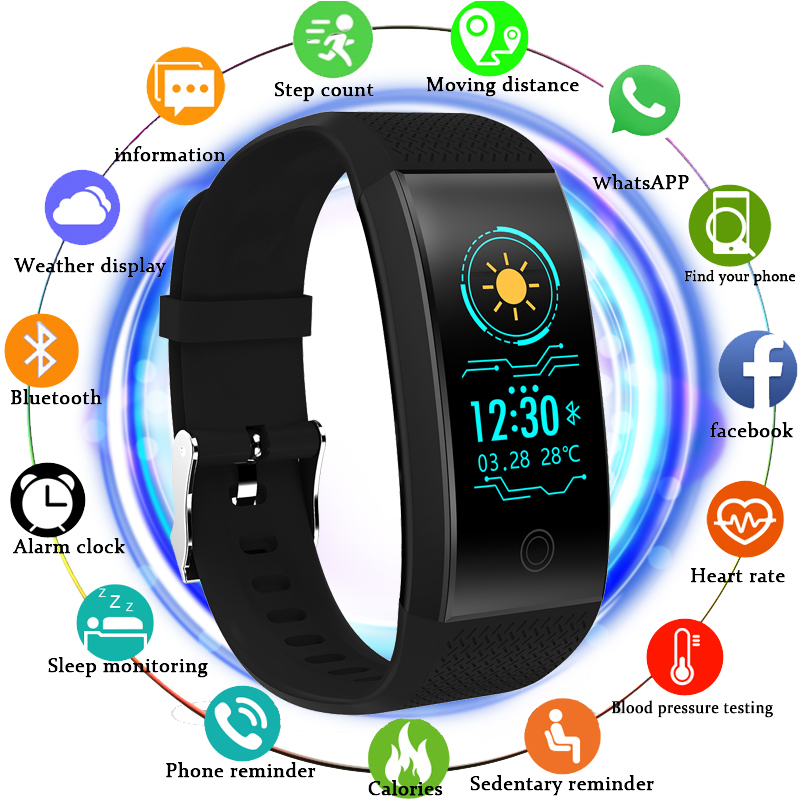 Smart Watch Men Heart Rate Monitoring Pedometer Wearable Swimming Sport Smart Watch Bluetooth Connection Information Reminder цена и фото