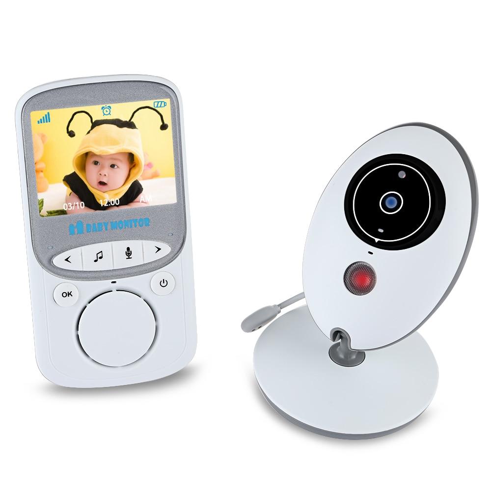 2017 New BABY Monitor VB605 2.4GHz LCD Temperature Display Kids Monitor Night Vision Wireless Babies Video Monitors
