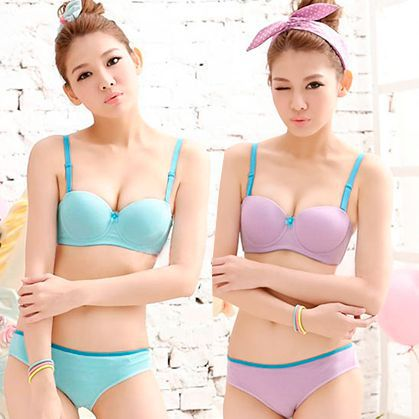 Aliexpress.com : Buy 2015 two girls wearing candy colored push up ...