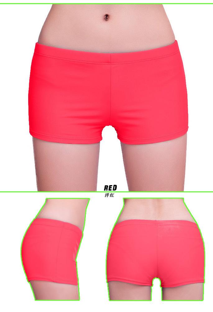 fe835b1dd3 swimming bikini women Swimsuit swimwear Boxer trunks Pants Trunks dancing  sports running Yoga Boxer Shorts beach pants nylon