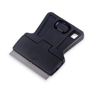 Image 5 - EHDIS 3pcs אוטומטי Razor מגרד עם פלדת סכין להב ויניל סרט לעטוף מכונית מגב קאטר חלון גוון דבק מדבקה מסיר כלים