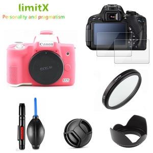 Image 3 - Чехол для фотоаппарата, чехол для защиты экрана от ультрафиолетовых лучей, 15 45 мм, для Canon EOS M50 Mark II M50MK2