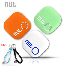 Nut 2 Smart Tag Bluetooth Tracker Anti lost Pet Key Finder Alarm Locator Valuables as Gift For Child ( White/ Green/ Orange)