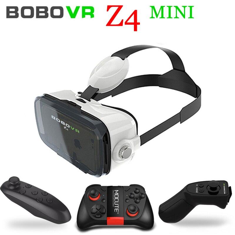 <font><b>Xiaozhai</b></font> <font><b>Bobo</b></font> <font><b>VR</b></font> Bobovr Z4 Mini 3 D Gerceklik Google Cardboard Virtual Reality Goggles 3D <font><b>Glasses</b></font> Smartphone Helmet Headset Lens