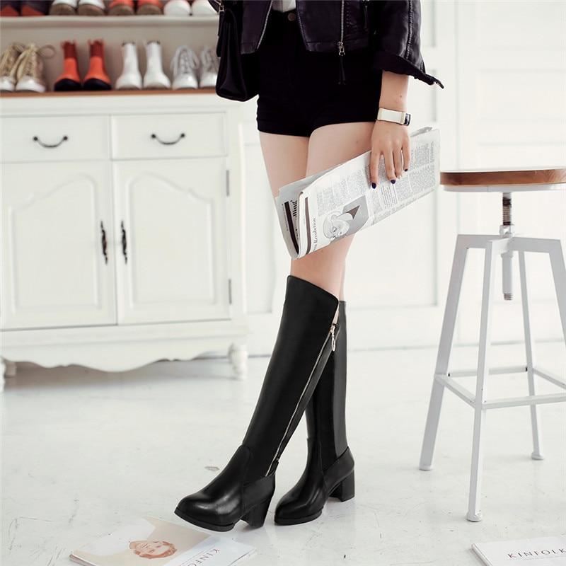 Großhandel Rimocy Botas Mujer 2018 Kniehohe Stiefel