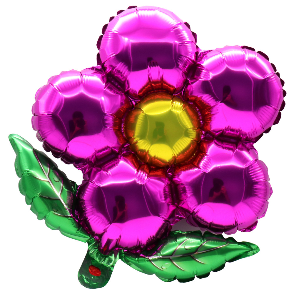 1pcs Flowers Foil Helium Balloons Birthday Party Birthday Wedding decoration RS