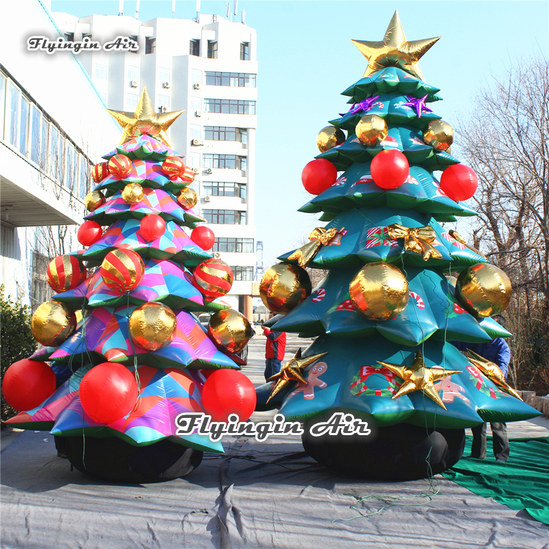 customized giant artificial christmas inflatable tree outdoor blow up xmas tree for holiday decoration in trees from home garden on aliexpresscom