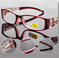 Wine Red Fashion Reader Retro Eyewear Women Reading Glasses