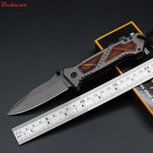Dcbear DA53 Tactical Knife Folder Camping Euipment Stainless Steel Hunting Survival Knives Edc Tools