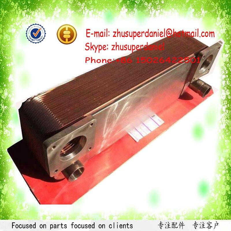 Di rame dopo di raffreddamento radiatore olio 1614958000 (1614-9580-00) per GA90-160 Vite Compressore Daria Pezzi di RicambioDi rame dopo di raffreddamento radiatore olio 1614958000 (1614-9580-00) per GA90-160 Vite Compressore Daria Pezzi di Ricambio