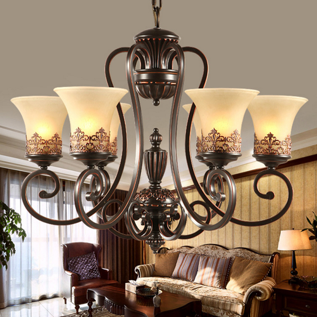 Conference room american chandelier rural mediterranean iron conference room american chandelier rural mediterranean iron chandelier retro nordic livingroom lamp european style bedroom lamp mozeypictures Image collections