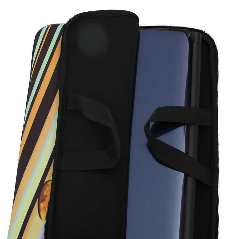 9.7, 10.1, 13, 13.3, 15.4, 15.6, 17.3, 17.4 inch Zebra Notebook Laptop Lengan tas Kasus Membawa Menangani Tas Untuk Macbook Air/Pro/Retina