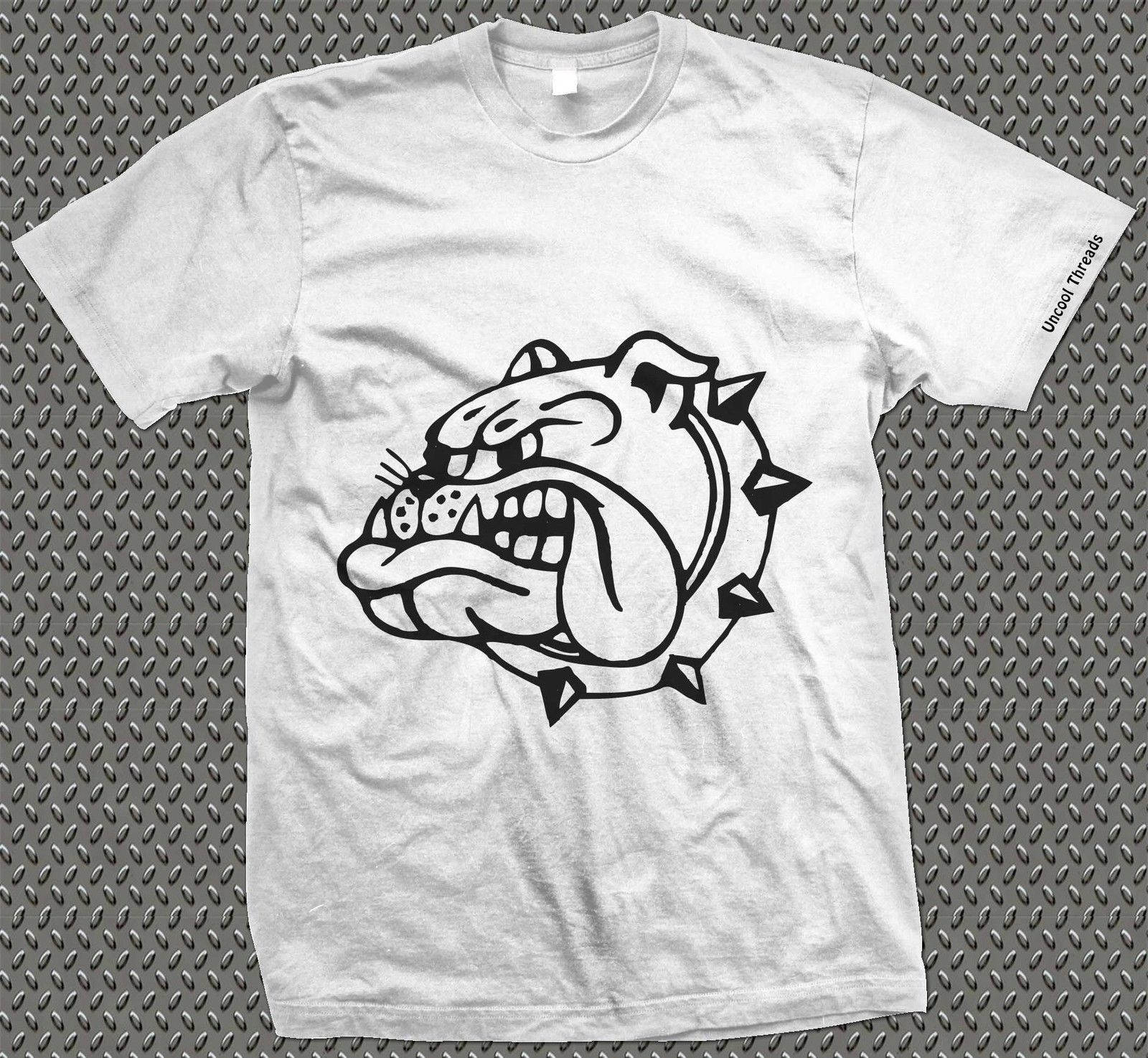 BULLDOG Design Printed T-Shirt - Spike Tyke Butch Animal Dog Grafitti Cool Casual pride t shirt men Unisex New Fashion tshirt