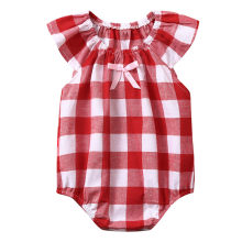 ARLONEET Toddler Baby Kids Girls Plaid Printed Romper Sumsuit Clothes Outfits Baby Girls Clothes Rompers&Clothing 19May P35(China)