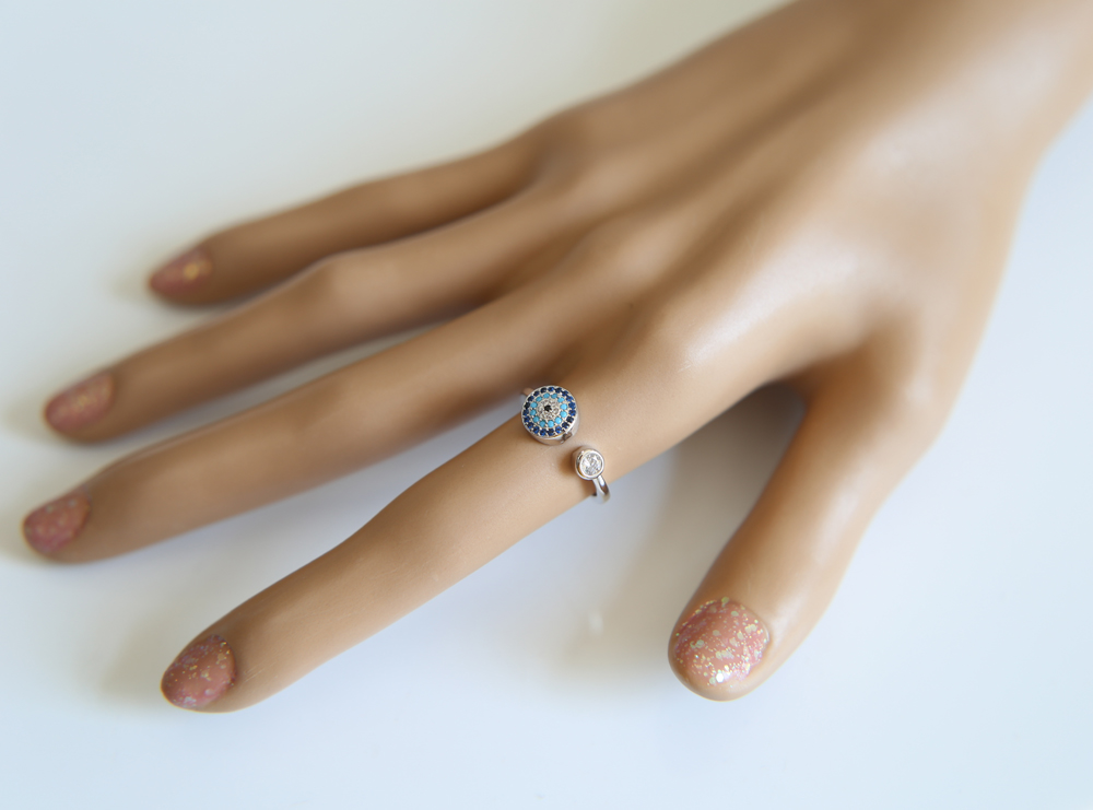 rose-gold-Evil-eye-open-Rings-with-blue-black-mixed-cz-new-jewelry-Luxury-adjustable-ring (4)