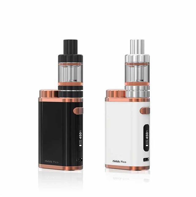 100% Original ISTICK Eleaf iStick Kit CT Pico 75 W Cigarros Eletrônicos Kit PICO com 4 ML Melo 3 Atomizador