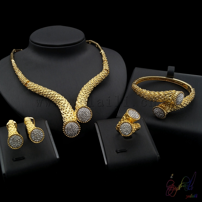 Free shipping China manufacturer sell jewelry set italian gold-color jewelry sets bridal elegant jewelry set simon lack a the hedge fund mirage the illusion of big money and why it s too good to be true