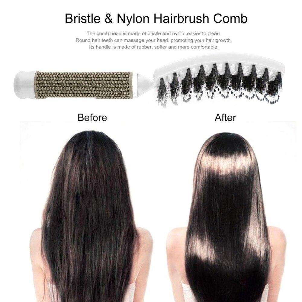 20 stücke in 1 paket, schwarz farbe, Haar Kopfhaut Massage Kamm - 3