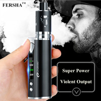 FERSHA electronic cigarette 80W high power fashion shape three color smoke players must quit smoking artifact
