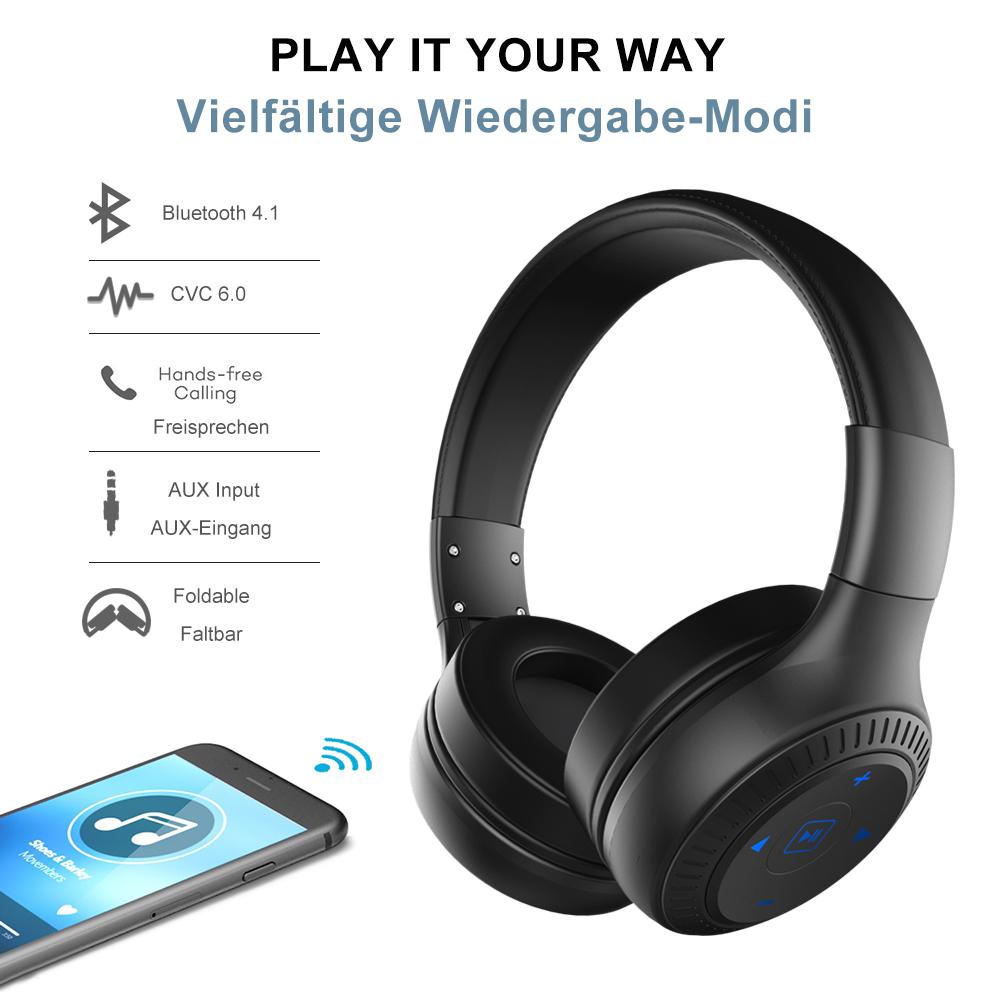 Zealot B20 Wireless Bluetooth Headphone Portable-3