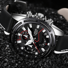 2019 LIGE Fashion Mens Watches Top Brand Luxury Sport Quartz Watch Men Leather Waterproof Military Chronograph Relogio Masculino relogio masculino lige men watches top brand luxury mens waterproof quartz watch men s fashion leather military sport watch saat