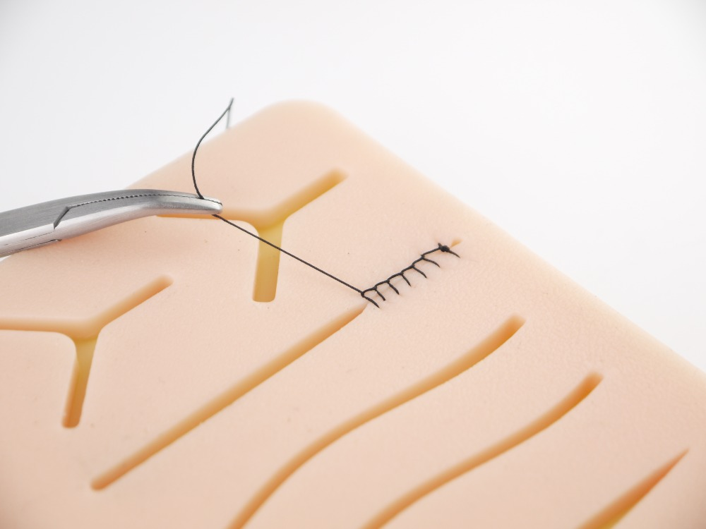 Image 3 - Medical Suture Training Kit Human Traumatic Skin Model Suturing Practice Training Pad Set Doctor Nurse TraumaTeaching Resources-in Medical Science from Office & School Supplies