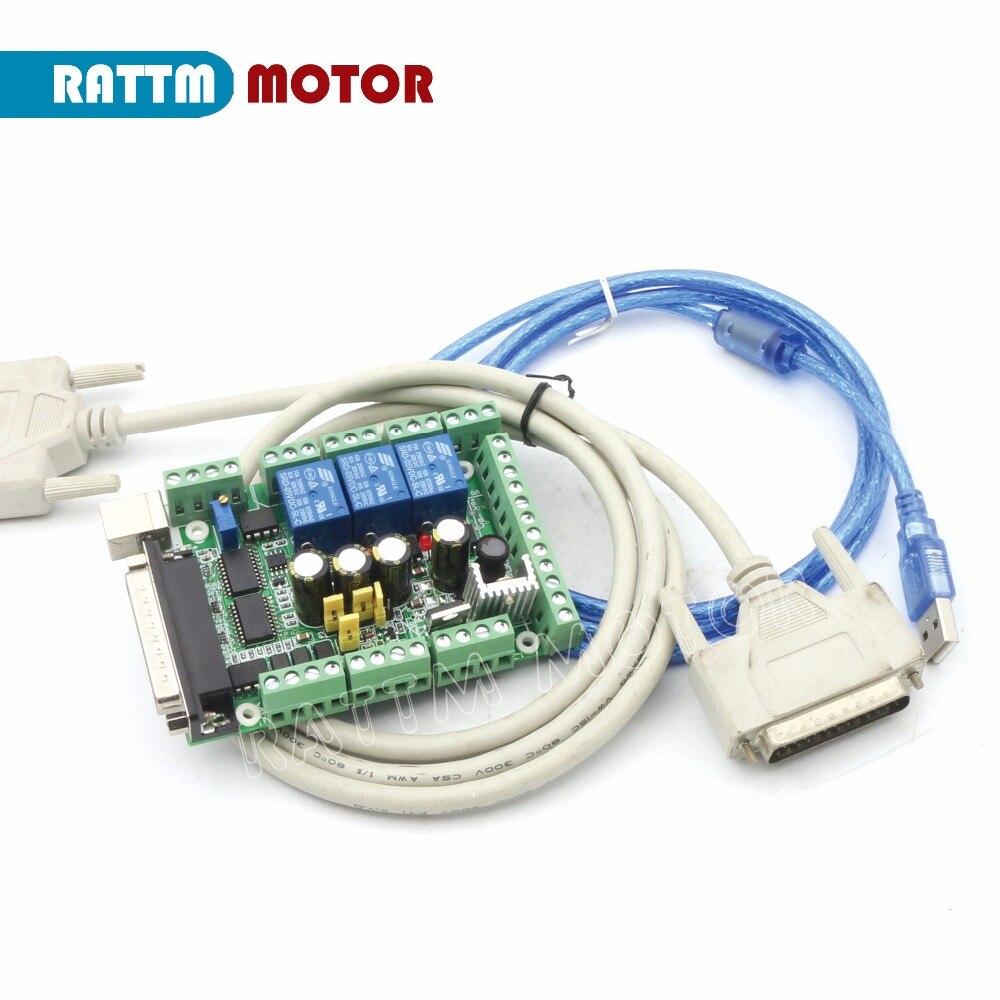 Высококачественный! ЧПУ 3 оси Nema34 878oz-in шаговый двигатель 98 мм/4.0A и водитель 6A/80VDC 256 Microstep