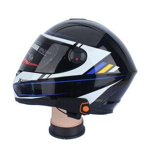 Image 5 - Fodsports BT S2 Pro Moto rcycle Mũ bảo hiểm tai nghe liên lạc nội bộ Moto bluetooth không dây chống nước interphone bằng FM mềm Micro